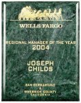 Green Marble Plaque Employee Awards