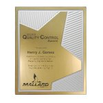 Grooved Brilliance Plaque Sales Awards
